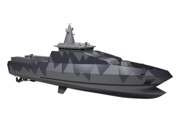 modern patrol boat model