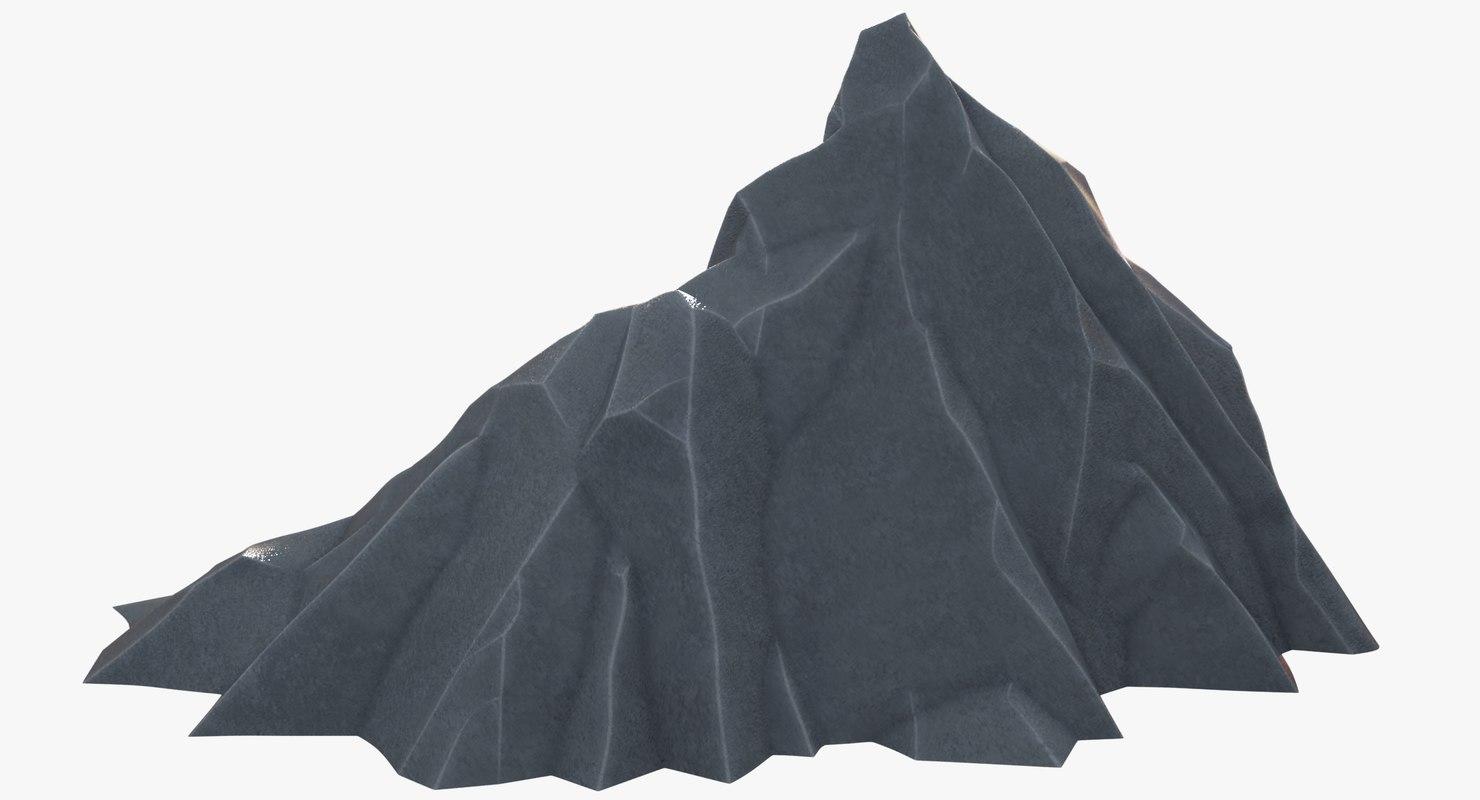 3D rock polygons