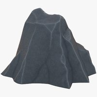 3D model rock polygons