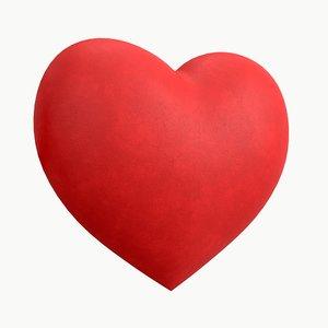 s heart 3D
