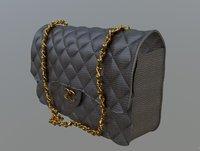 women handbag 3d model 3D model