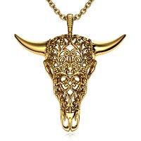 buffalo skull pendant 3D model