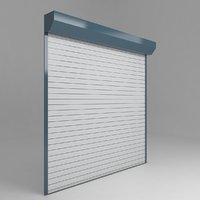 3D garage door