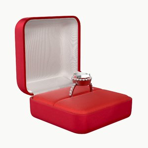 ring box wedding model