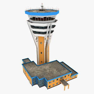 air traffic tower 3D