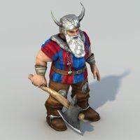 Dwarf rigged