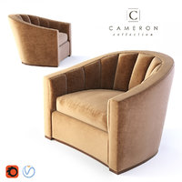 cameron lombard chair 3D