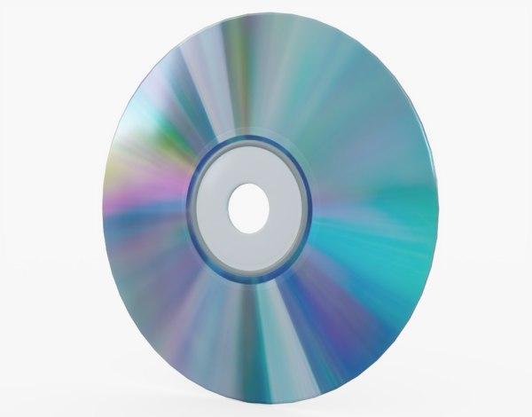cd disc 3D