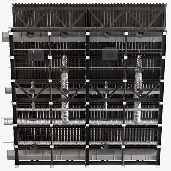 3D model ceiling ventilation 22 1