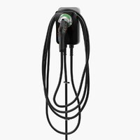chargepoint electric vehicle charging 3D
