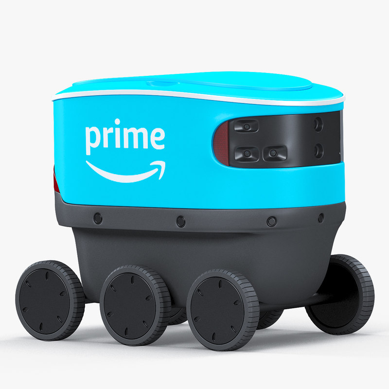 3D scout delivery robot