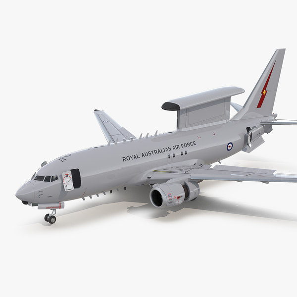 boeing 737 wedgetail royal 3D