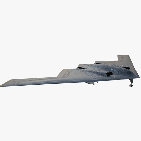 stealth bomber b-2 spirit model