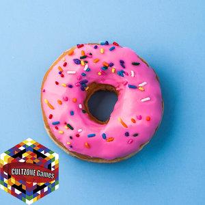 3D donut food