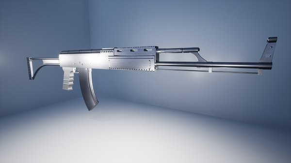 3D tactical ak47