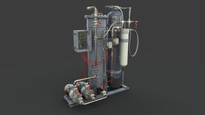 machinery industrial 3D model