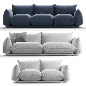 3D marenco sofas model