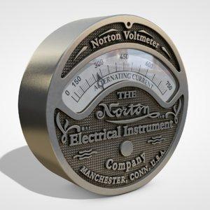 3D retro gauge model