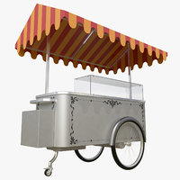ice cream cart model
