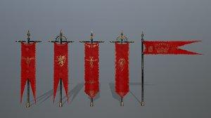 flag color 3D