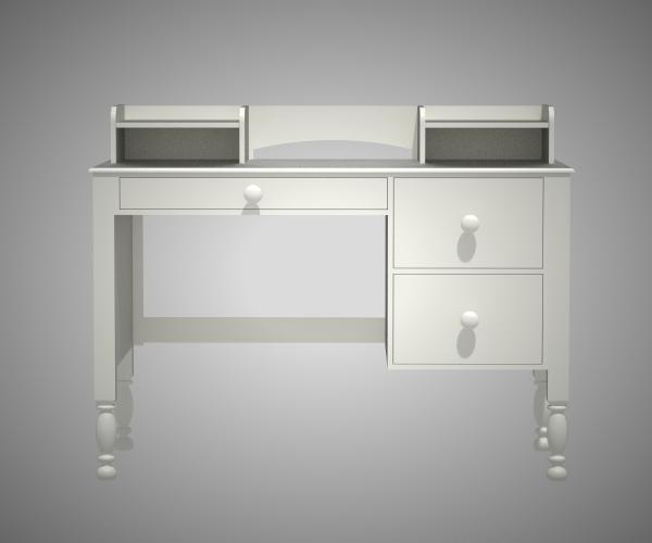 simply desk chair 3D