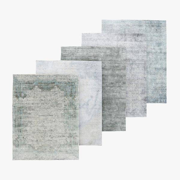 3D carpet pattern model