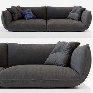 3D jalis sofa model