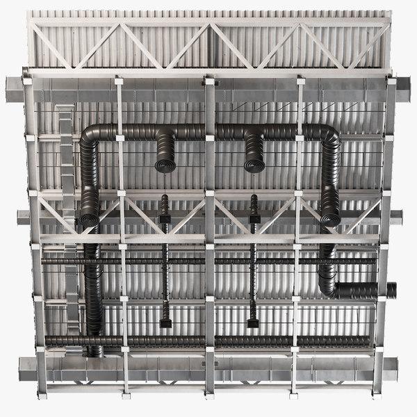 ceiling ventilation 23 3D model