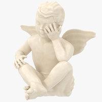 3D model cherub