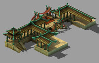 xiqiao city palace - 3D model