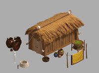 3D rural architecture - house