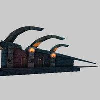 snowfield concern - wall 3D model