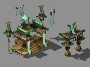 3D metaphysics - daoist taigonggong model