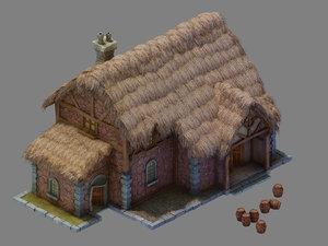 newman village farm - 3D model