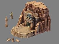 3D blood festival canyon -