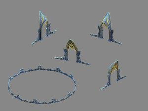 moon city - gate model