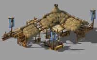 3D model station - inn 03