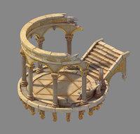 moon city - table 3D model