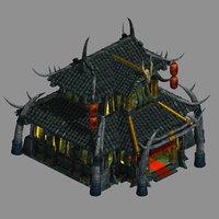 3D barbaric orcs - pub model