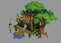 3D yunmengze - chalet 32