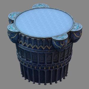 3D moon city - main