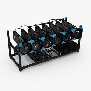 3D mining rig