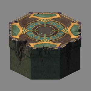 3D funeral place - central