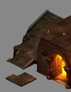 place demon - door model