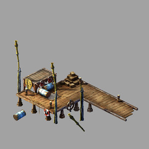 3D steam harbour - small