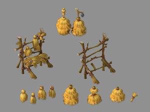 weeds - sun valley 3D model