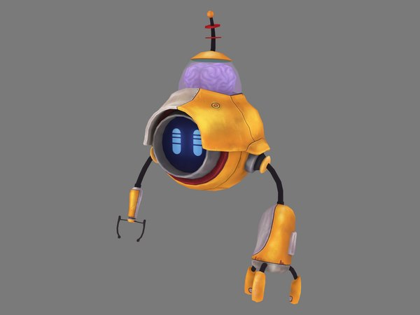 3D character robot hybrid