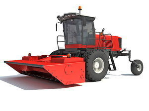 swather windrower harvester model