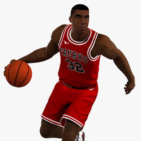 animations player 3D model