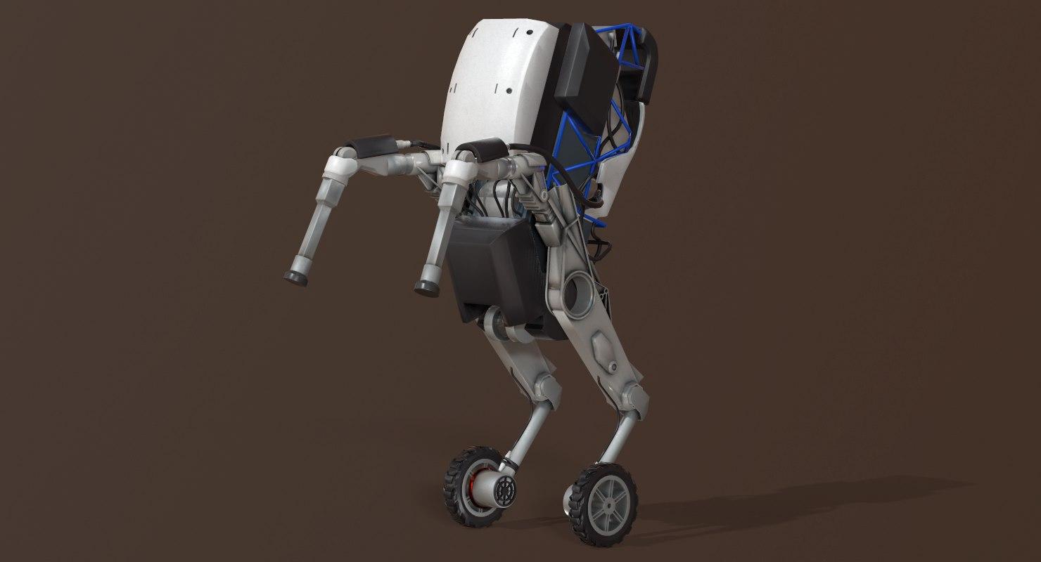 handle robot dynamics boston 3D